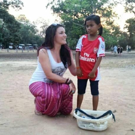 Little Girl Cambodia